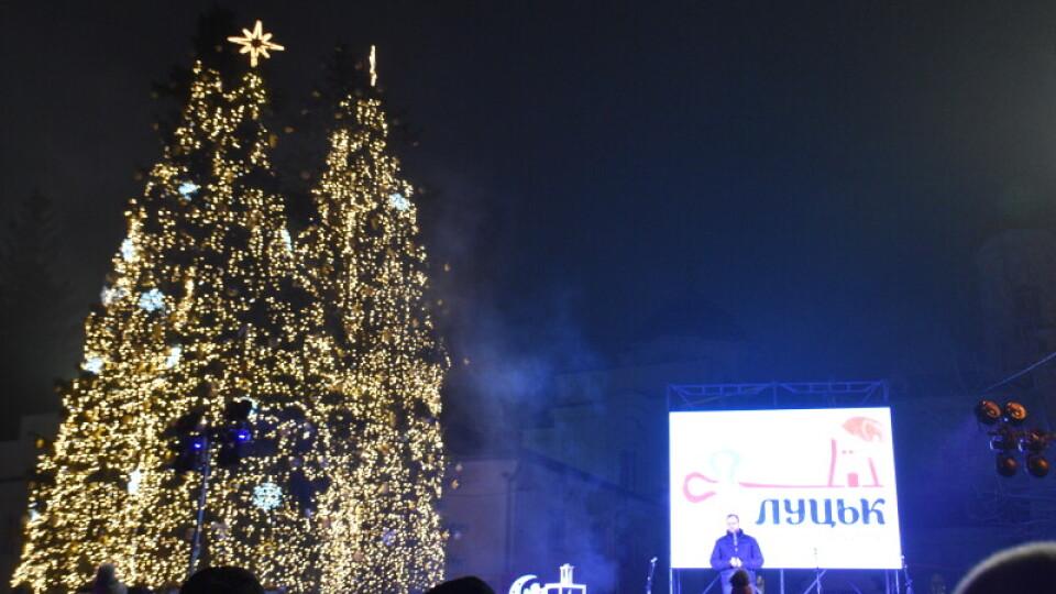 Луцьк – у ТОП-5 українських міст, де міськради витратили найбільше на святкування Нового року