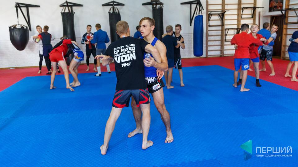Волинських «воїнів» до Чемпіонату Європи з бойового самбо готують титуловані спортсмени. ФОТО