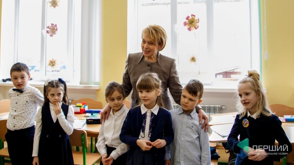 Що робила міністр освіти Лілія Гриневич у Луцьку. ФОТОРЕПОРТАЖ