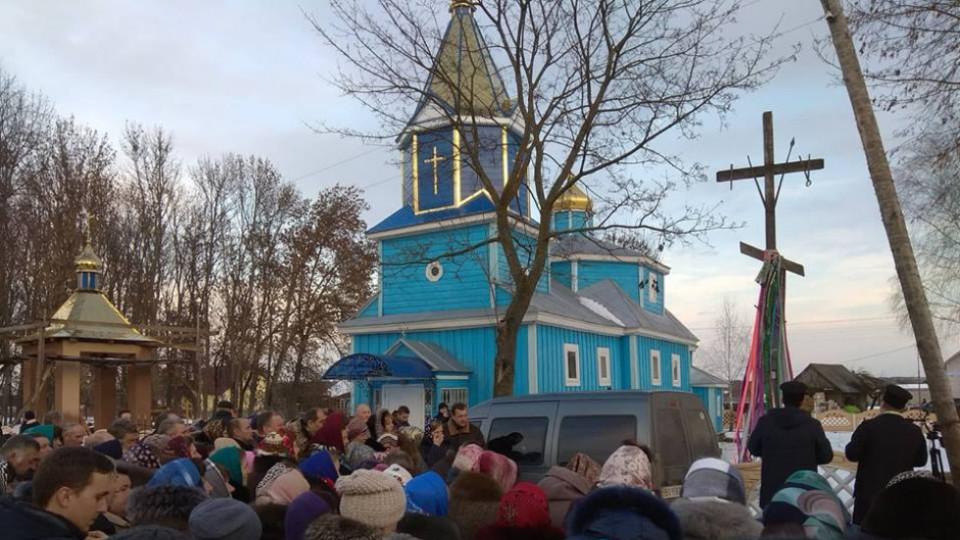 У селі на Волині громада храму проголосувала за перехід в ПЦУ. ФОТО