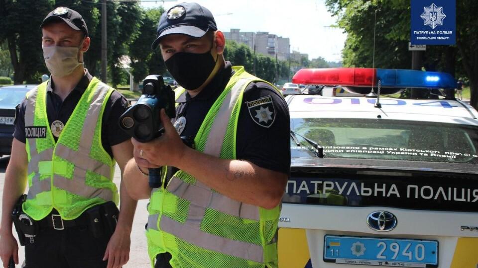 На двох вулицях Луцька запрацювали радари TruCam