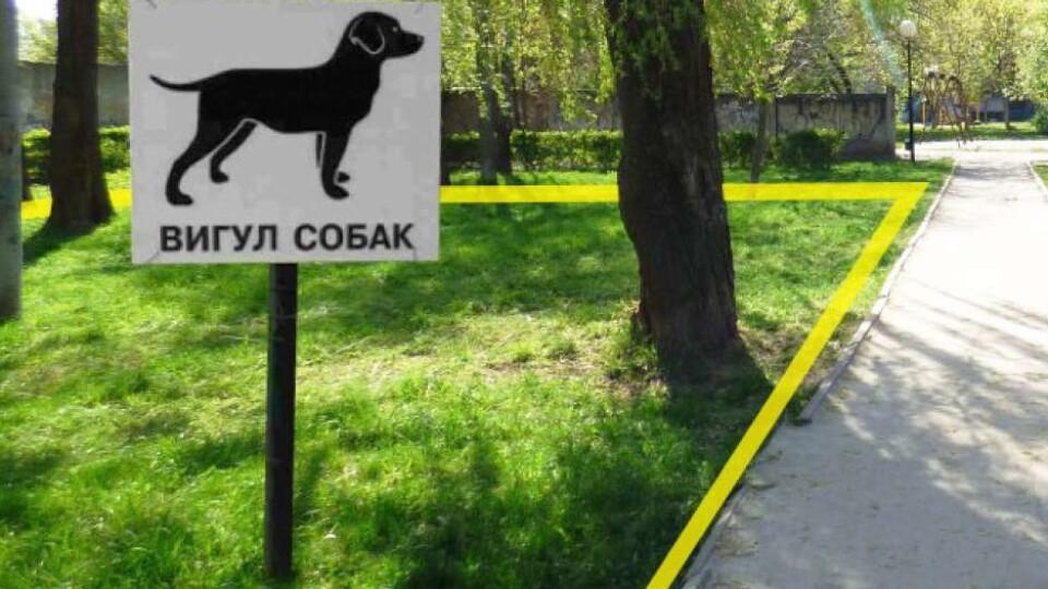 У Луцьку просять облаштувати майданчик для вигулу собак. Петиція