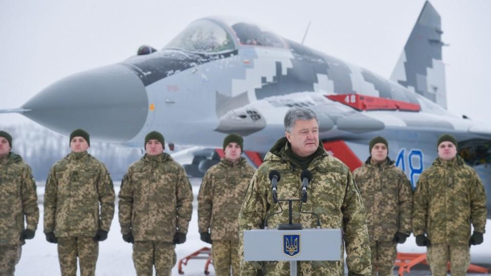 Президент передав ЗСУ відремонтовану техніку: два винищувачі полетять в Луцьк. ФОТО