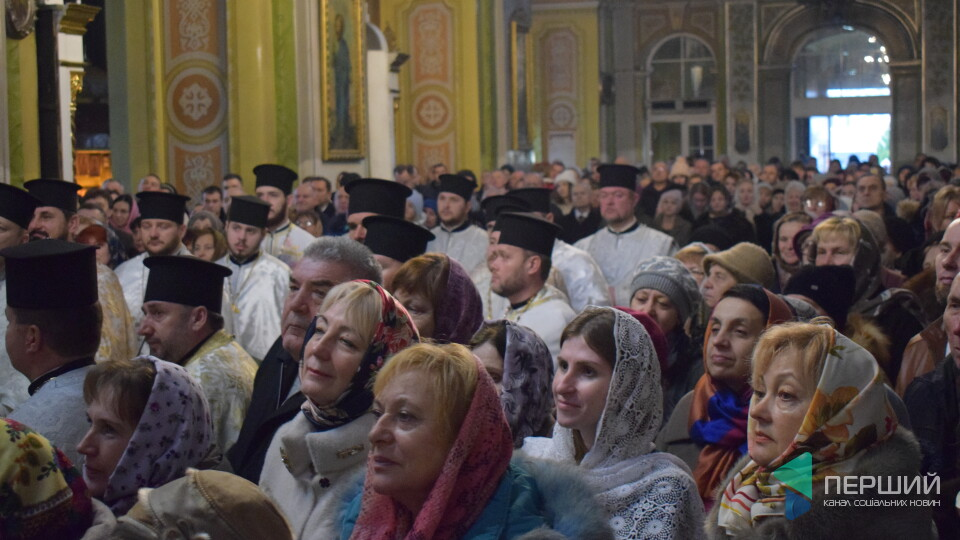 «Нарешті ви відкинули московське». У луцькому соборі вперше святкують Різдво 25 грудня