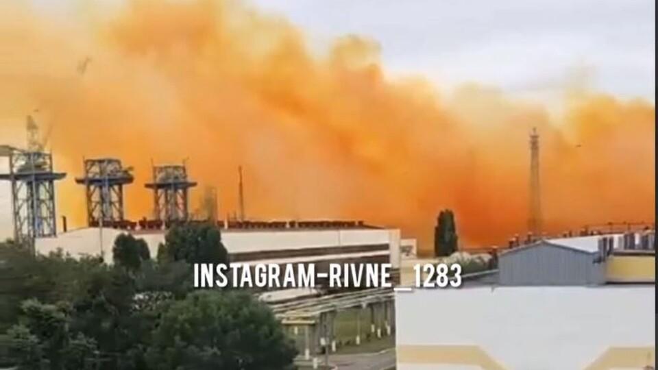 За 60 кілометрів від Луцька на заводі «Рівнеазот» стався вибух