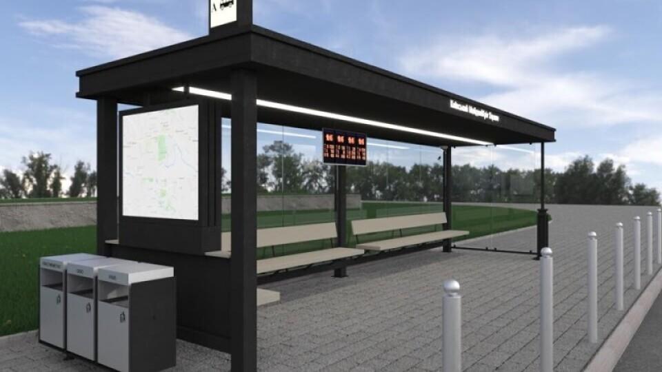«Розумні» зупинки у Луцьку встановлюватиме «Модерн-Експо»