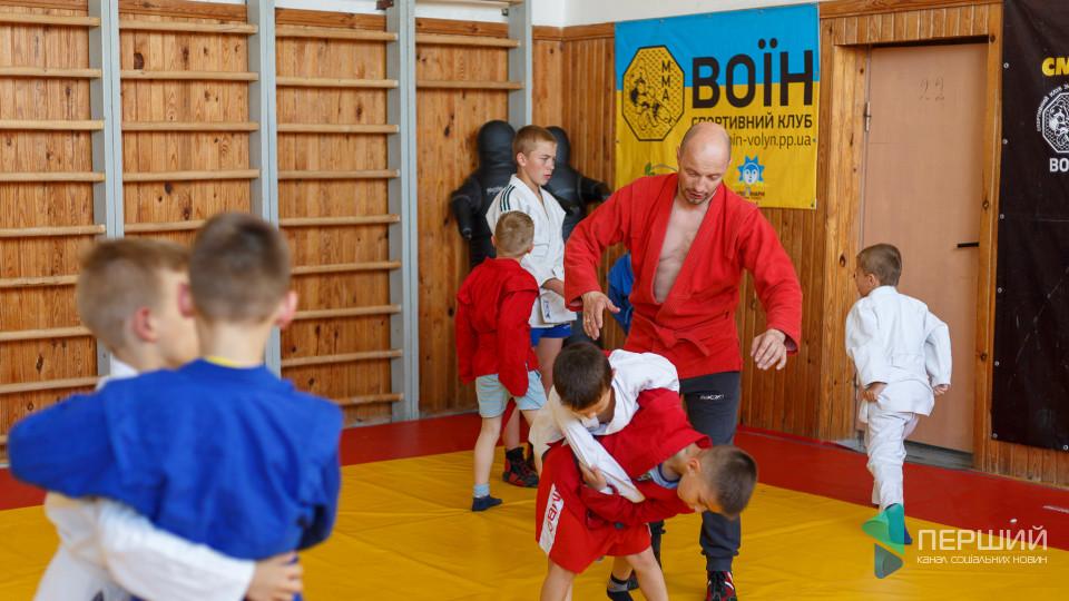 Луцький «Воїн» - спортивний клуб, де виховують чемпіонів. ФОТО