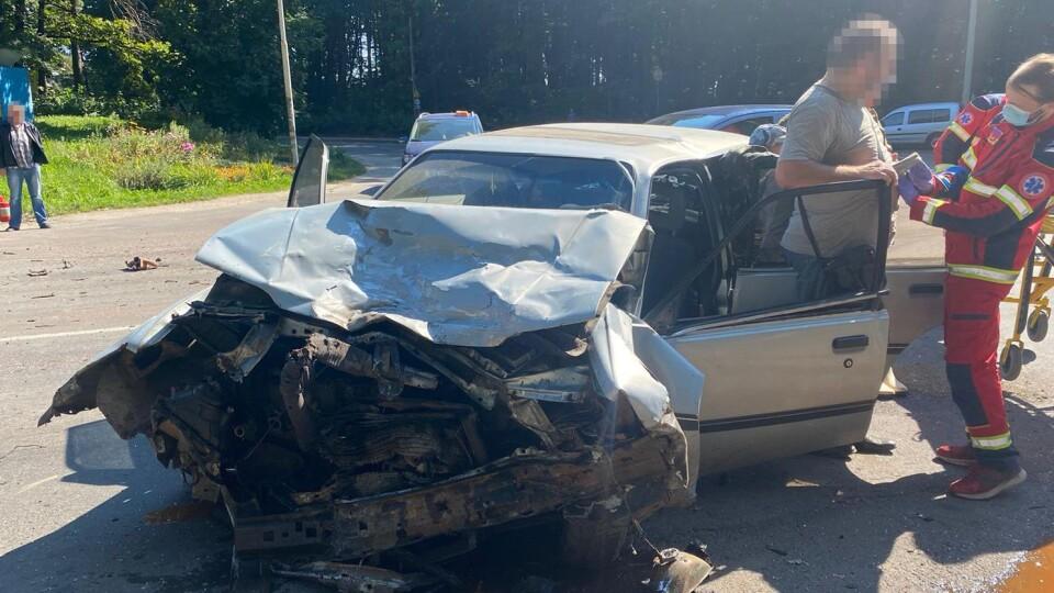 На Волині сталося дві ДТП, у яких постраждало троє водіїв