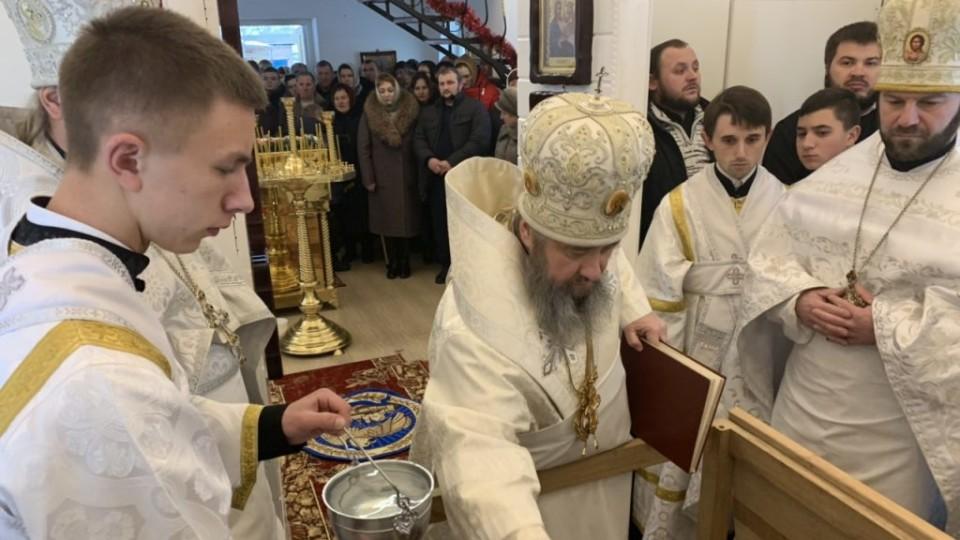 У селі на Волині митрополит Володимир освятив  новий храм УПЦ МП. ФОТО