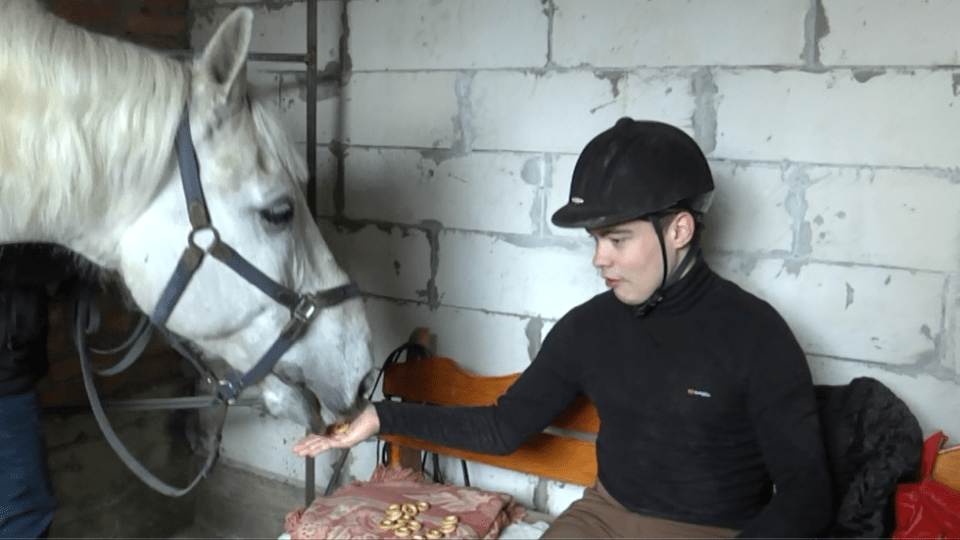 Дітей лікують коні: на Волині облаштовують центр іпотерапії. ВІДЕО