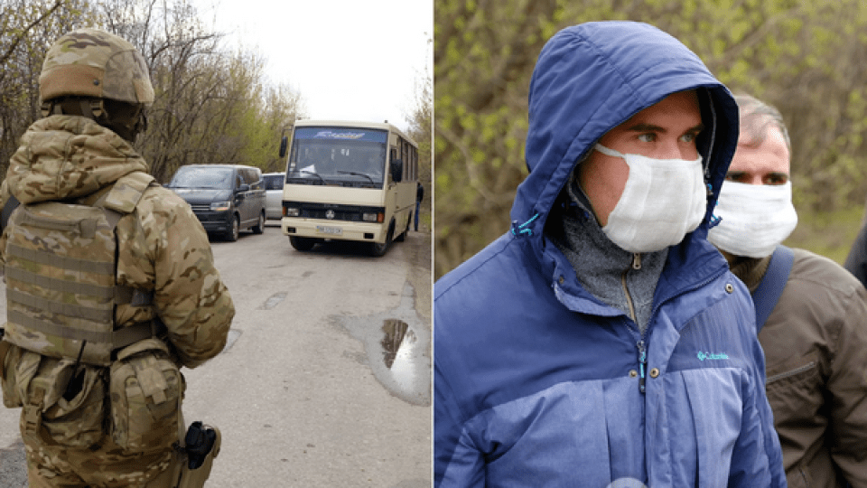 Опублікували повний список звільнених з полону «Л/ДНР»