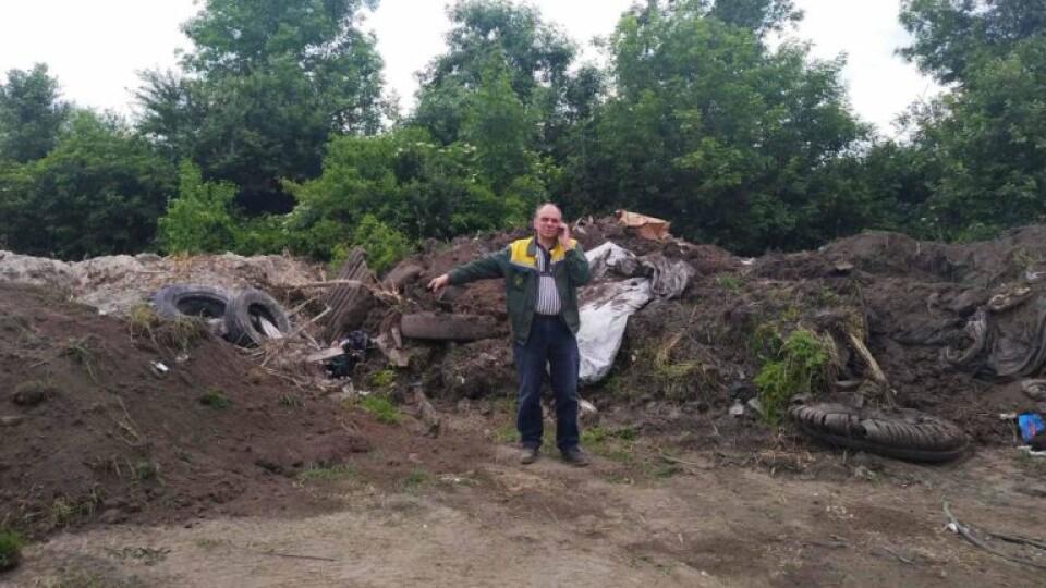 «Приберіть непотріб!» Через купу сміття цукровий завод має претензії до Луцькради