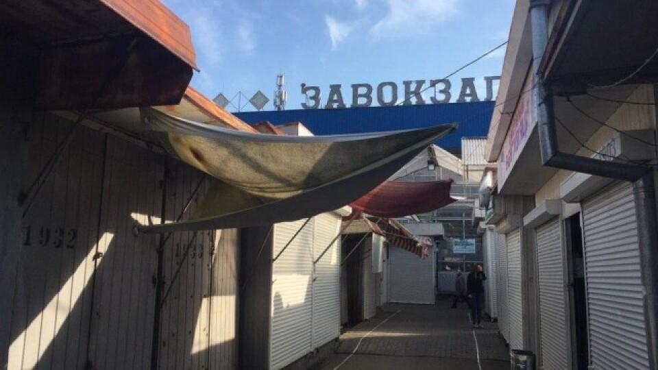 У Луцьку не працюють Центральний ринок та частина Завокзального. Продавці – на мітингу