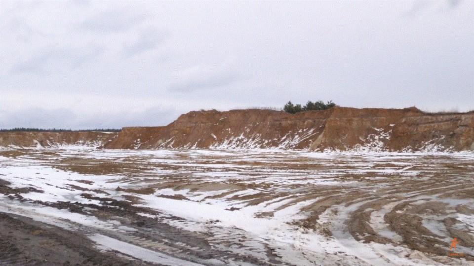 На Ковельщині продають пісок без дозволів і ліцензій. ВІДЕО