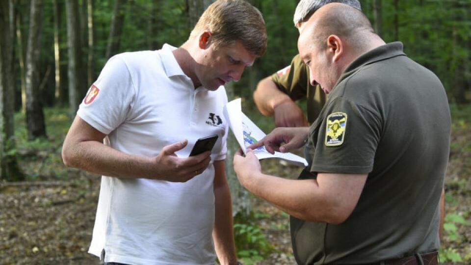 «Євробляхарі» на Волині шукали крадений ліс