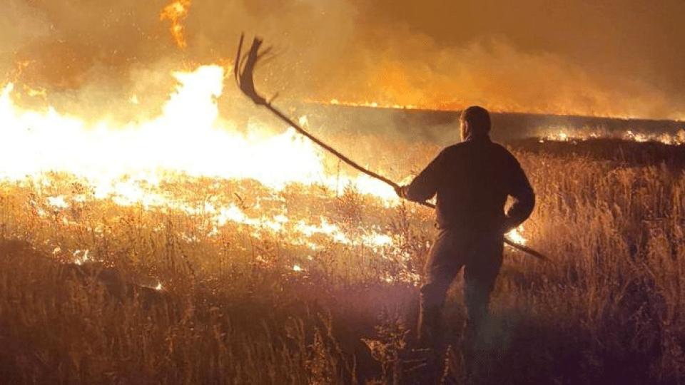 У Луганській області в результаті масштабних пожеж загинуло 9 осіб