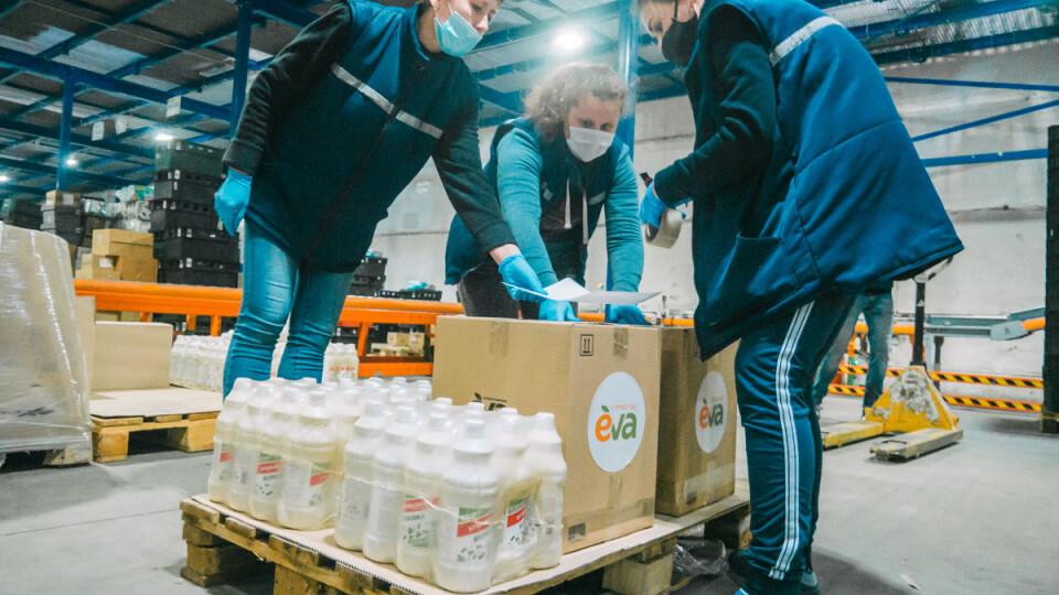 Лінія магазинів EVA забезпечила опорні лікарні України засобами дезінфекції
