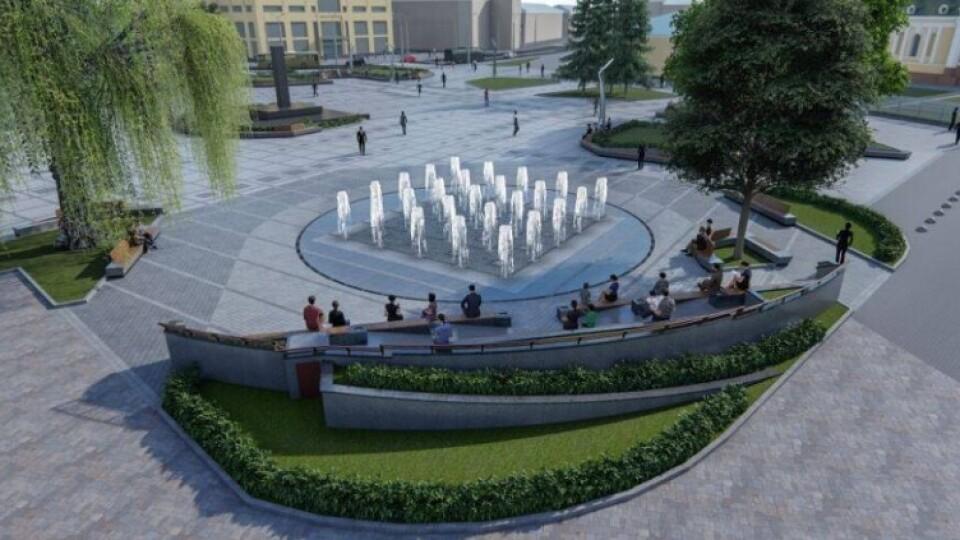 У Луцьку збирають ідеї, як змінити Театральний майдан