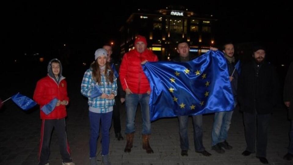 Хто прийшов уночі на Майдан 7 років тому в Луцьку. П'ять промовистих фото