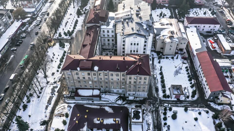 Велике будівництво: як змінюється приймальне відділення Волинської обласної лікарні