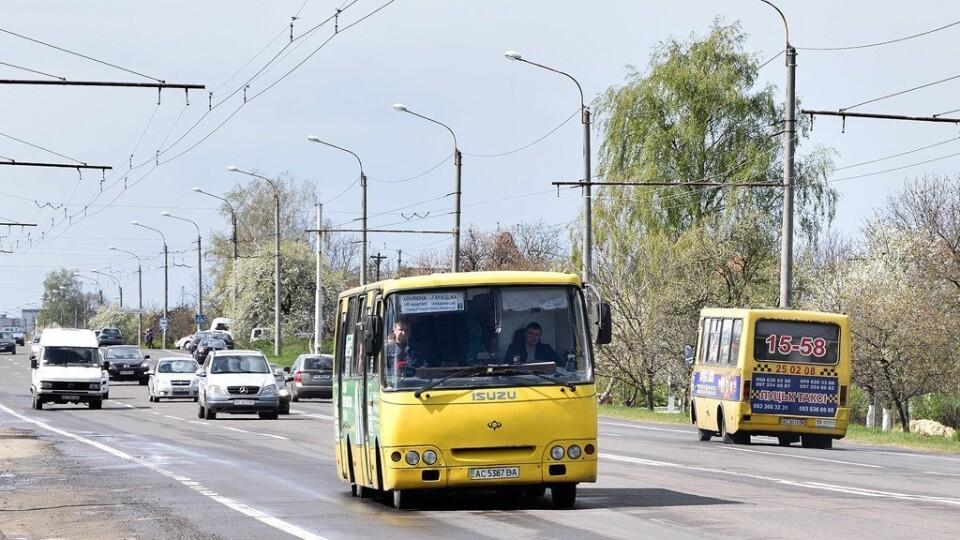 Яккурсуватимуть маршрутки з Луцька до Гаразджі у провідну неділю. Графік руху