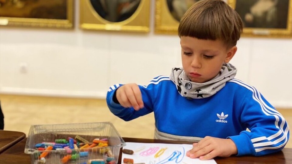 Svitlynka в храмі музи: як дітки Світлинки відвідали художній музей