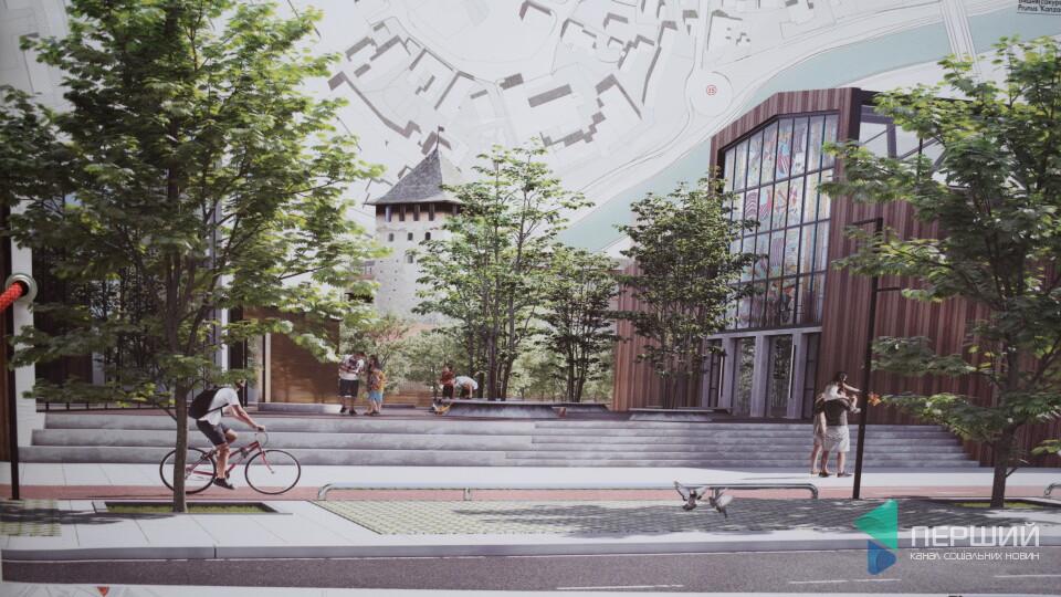 Що хочуть зробити на місці Старого ринку у Луцьку: показали проєкти