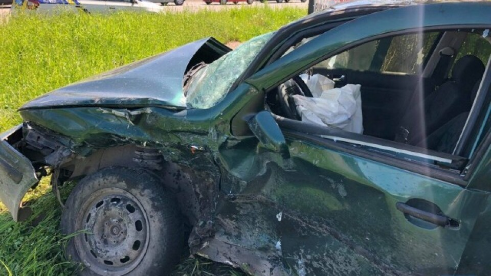 У Нововолинську зіткнулися дві автівки. Є постраждалі
