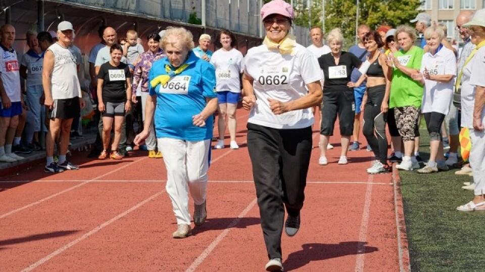 У Луцьку – змагання спортсменів-пенсіонерів: найстаршому учасникові – 84 роки