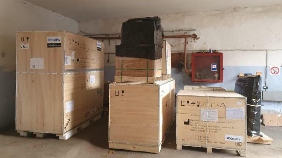 Для лікарень у Луцьку придбали три комп'ютерні томографи