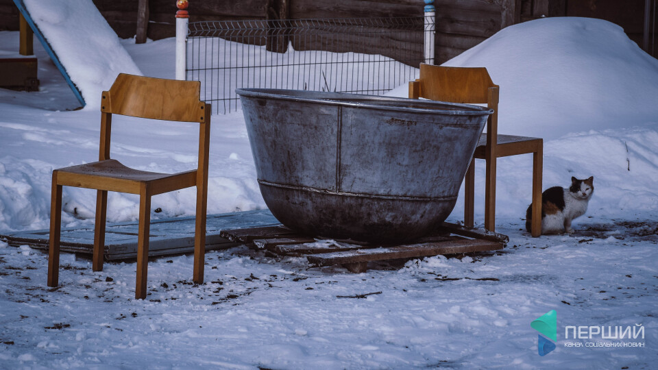Без гармат, глінтвейну і ...ополонки. «Масові купання» в Жидичині під Луцьком. РЕПОРТАЖ