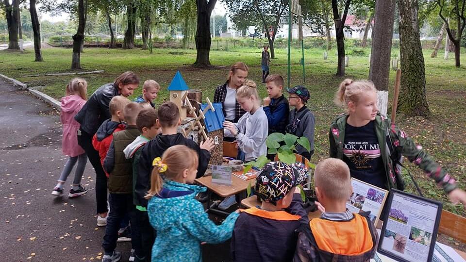«Моє яскраве майбутнє»: у Волинському екологічному центрі відбувся день відкритих дверей