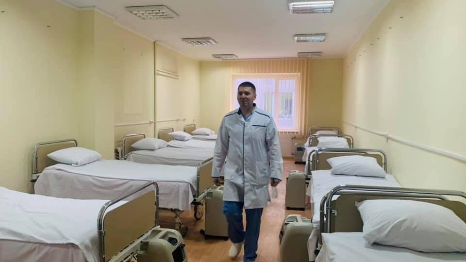 У львівській лікарні, якою керує лікар з Волині, за 12 днів відкрили ковідне відділення