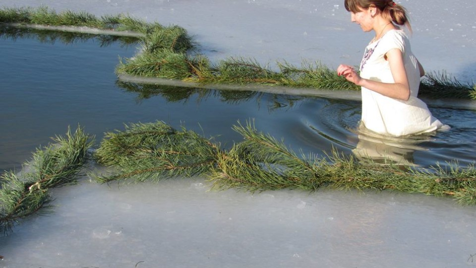 Водохрещенські купання на Старовижівщині. ФОТО
