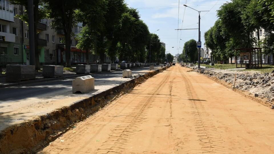 Яка ситуація із ремонтом на проспекті Волі у Луцьку. Фотозвіт