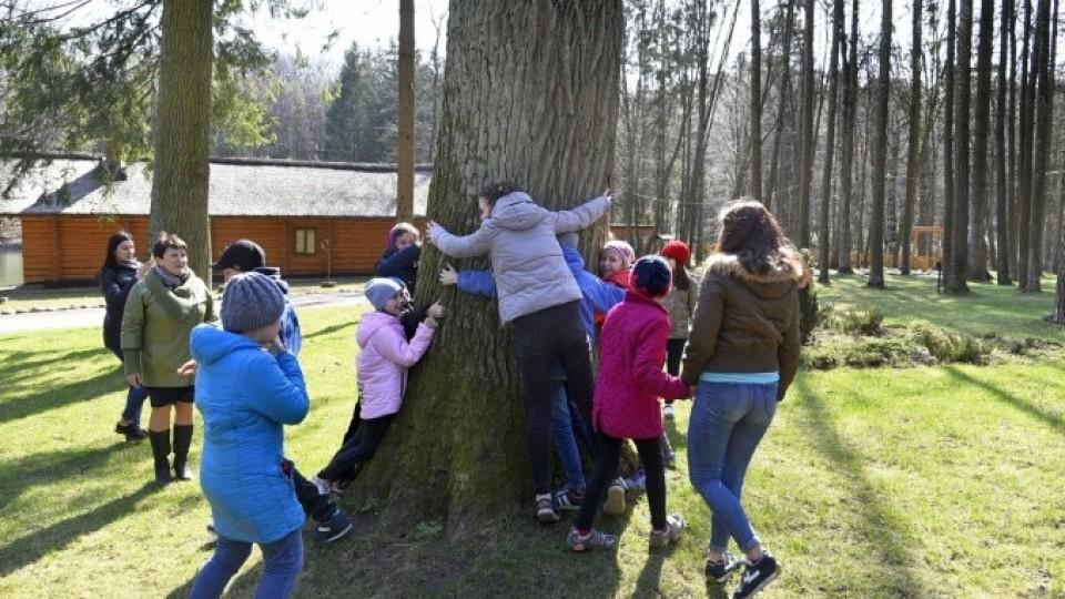 У Воротневі влаштували екскурсію дітям з притулку: посадили калину і бачили оленів. ФОТО