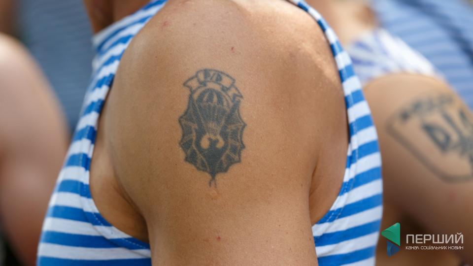 ТОП-15 татуювань луцьких десантників