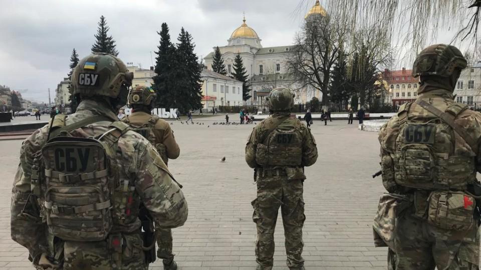 Працівники СБУ вийшли патрулювати Луцьк. ФОТО