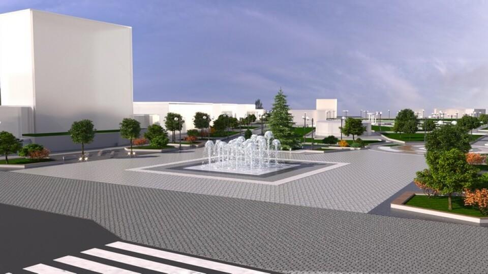 Перенесення пам'ятника, зони відпочинку, фонтан. У центрі Ковеля запланували масштабні зміни