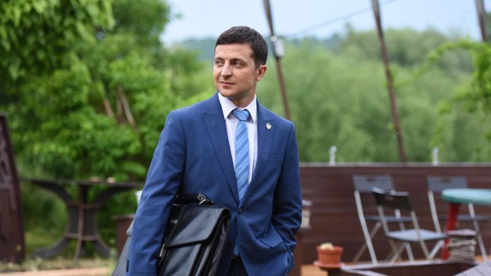 Партія «Слуга народу» висунула Зеленського у президенти