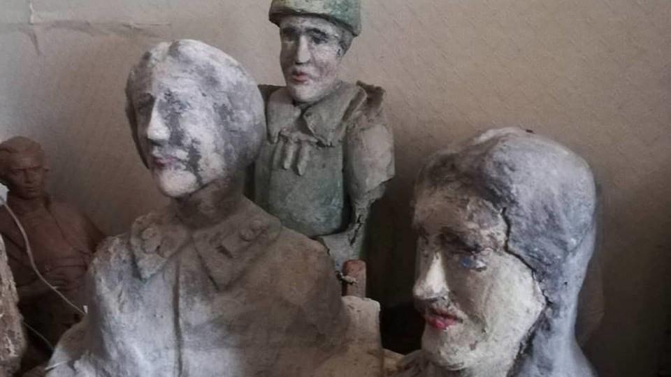 У Луцьку хочуть відтворити скульптури самобутнього митця: шукають меценатів. ФОТО