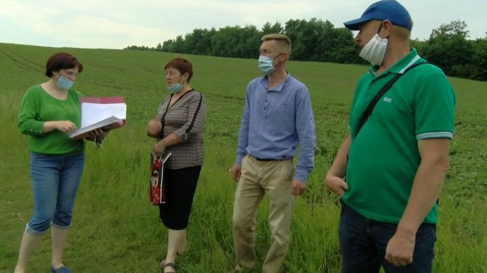 У Горохівському районі люди протестують проти будівництва сміттєвого полігону