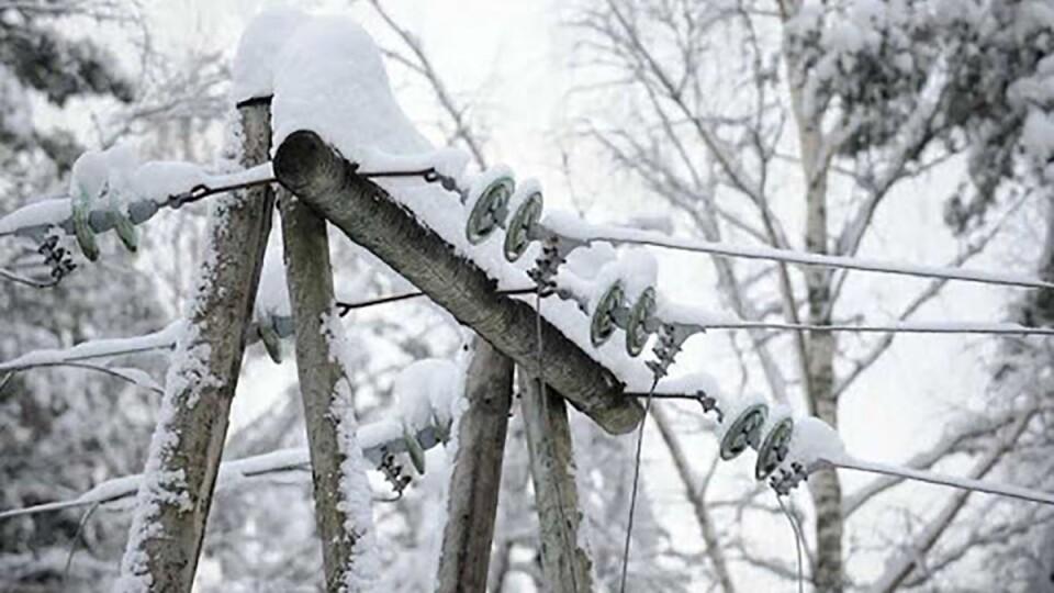 На Волині внаслідок негоди повністю знеструмлено 67 сіл