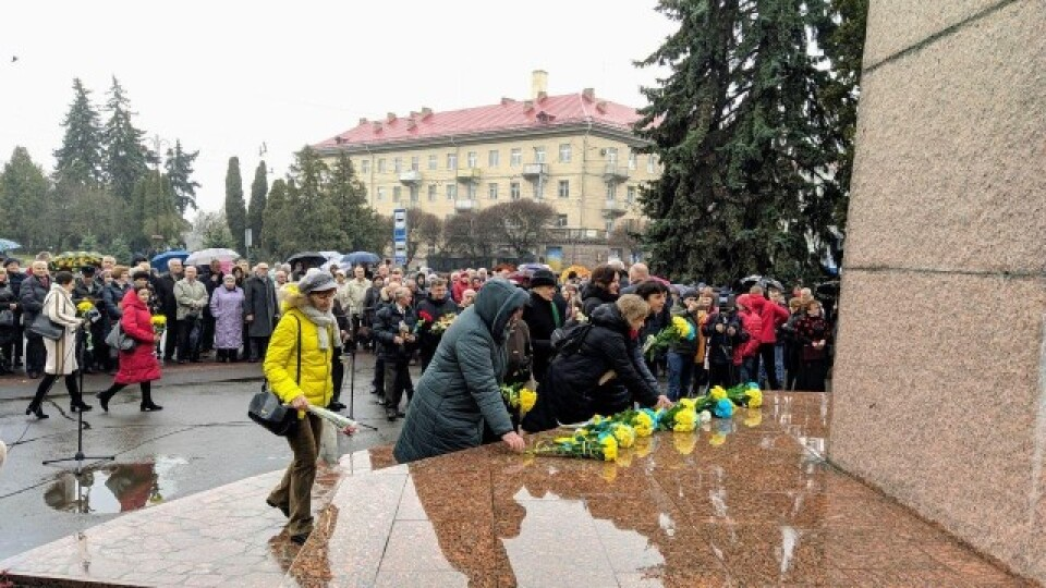 Як у Луцьку відзначали 206-ту річницю від дня народження Тараса Шевченка