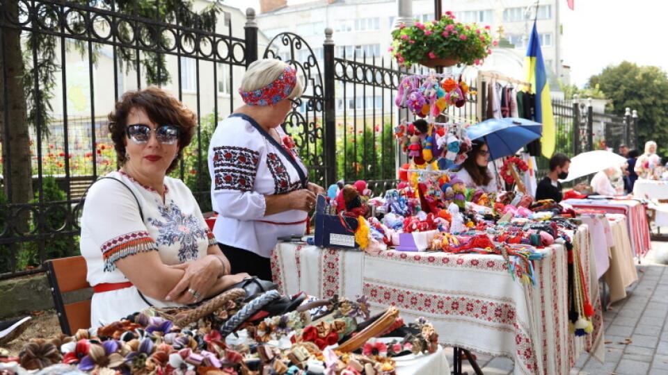 Як  у Луцьку відзначали 29-ту річницю Незалежності України. ФОТО