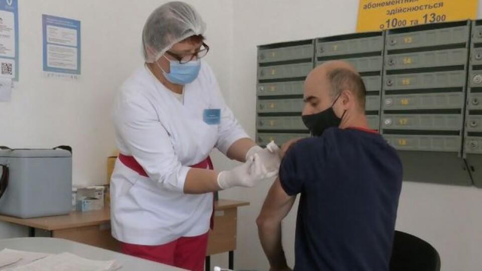 На Волині у відділеннях «Укрпошти» за день вакцинували 160 людей
