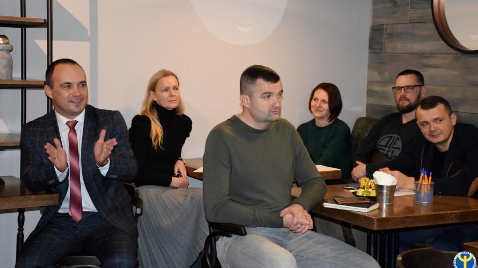 У Луцьку майбутнім підприємцям розповіли, як розпочати свій бізнес
