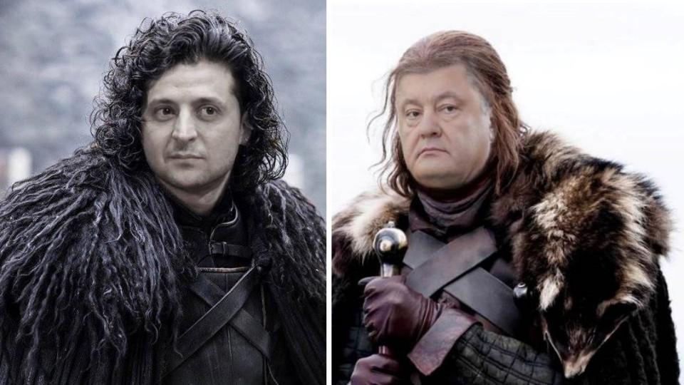 Порошенко, Зеленський і «Гра престолів»: на кого схожі наші кандидати?