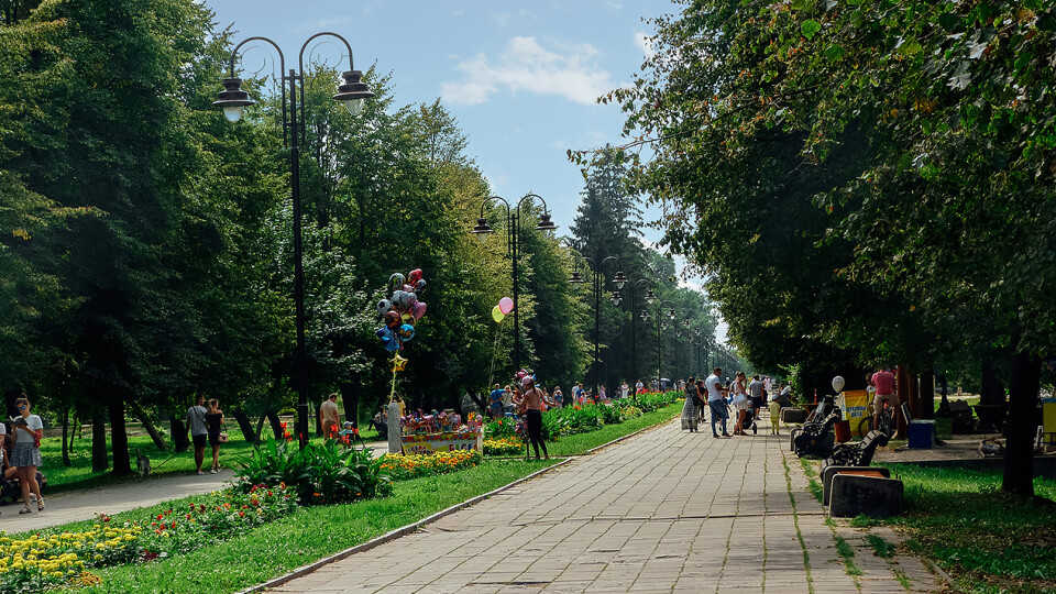 У Центральному парку Луцька з'явився новий фонтан