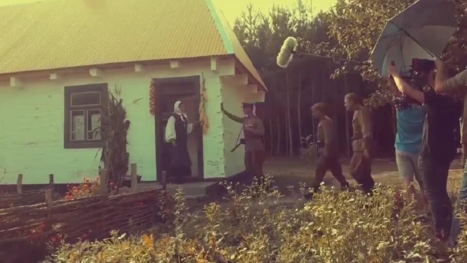 На Волині знімають фільм «Шлях поколінь». Він про боротьбу українського народу